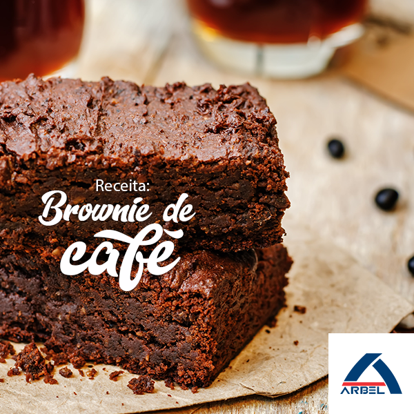 Brownie de Café - Arbel